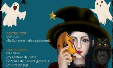 """Miercuri: Petrecere de Halloween la Biblioteca Județeană ,,Lucian Blaga"""" Alba"""