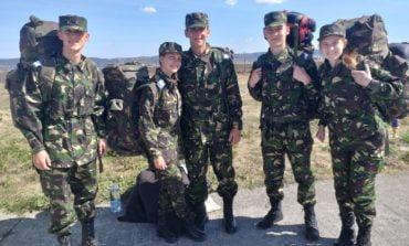 FOTO: Experienţă internaţională pentru elevii militari