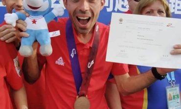 FOTO: Ionuț Zincă – medalie istorică pentru orientarea din România la Jocurile Mondiale Militare