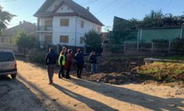FOTO: Stadiul lucrărilor pe străzile Unirii din Petrești și Ulița de Sus din Lancrăm