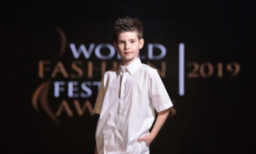 Paul Gabriel Butuza a fost Best Young Model - 2019 la WORLD FASHION FESTIVAL AWARDS Dubai
