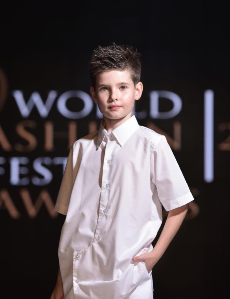 Paul Gabriel Butuza a fost Best Young Model – 2019 la WORLD FASHION FESTIVAL AWARDS Dubai