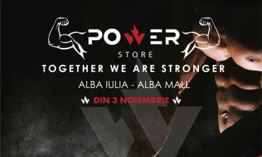 Duminică: Inaugurare Power Store în Alba Mall, probabil cel mai versatil magazin cu suplimente nutritive din județ