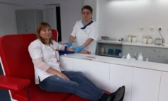 """FOTO: Campania """"Noi donăm, noi salvăm"""", a Spitalului Județean de Urgență Alba Iulia, a ajuns la a treia ediție"""