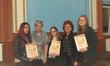 FOTO: Noi premii obținute de cursanții Școlii de Arte și Meșteșuguri din județul Alba