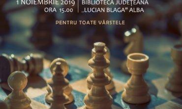 """Vineri: Șah – Mat! la Biblioteca Județeană """"Lucian Blaga"""" Alba"""