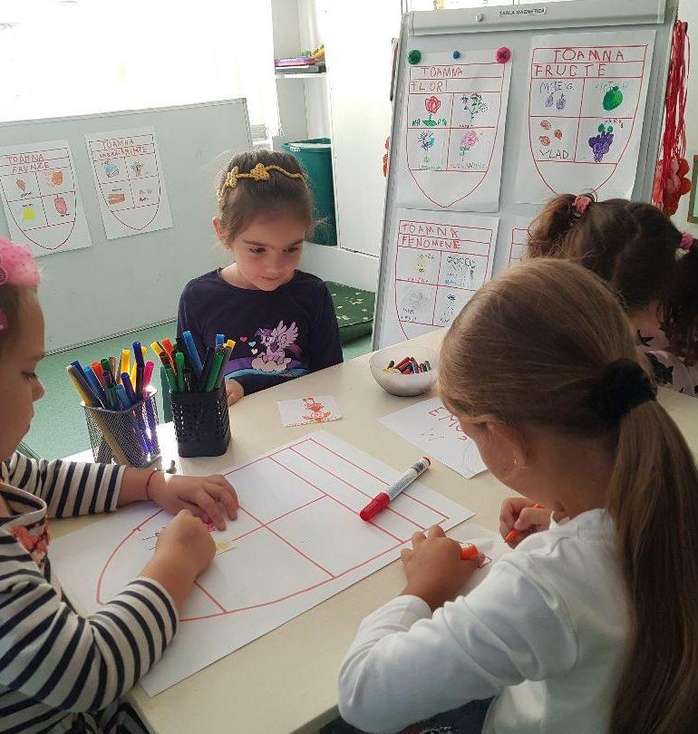 FOTO: Teme inspirate din sistemul de învățământ Reggio Emilia, la Grădinița cu Program Prelungit Step by Step nr. 12 Alba Iulia