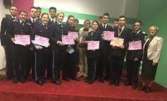 """Premii şi menţiuni pentru elevii militari la Concursul Interjudeţean de Matematică """"Mens Sana..."""""""