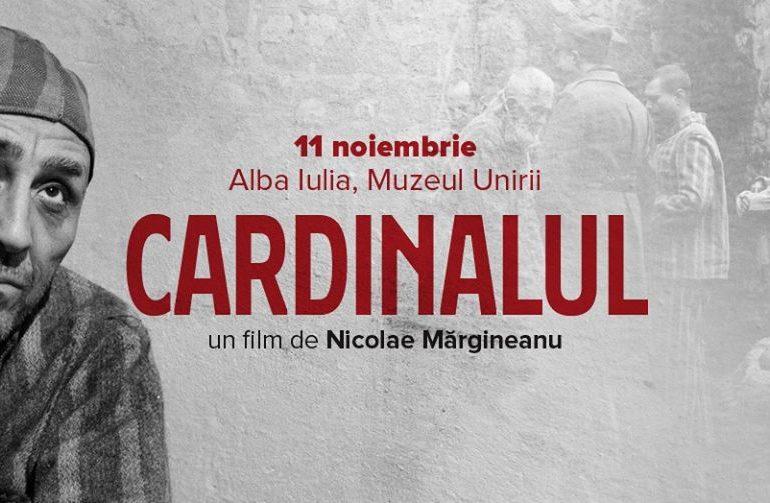 Luni: Cardinalul, un film semnat de Nicolae Mărgineanu, după un scenariu de Bogdan Adrian Toma, vine la Alba Iulia