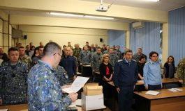 FOTO: Distincţii militare onorifice, conferite cadrelor militare şi civile din colegiul militar