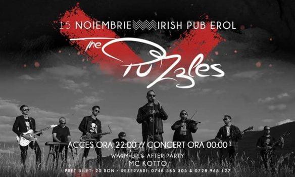 "15 noiembrie: ""Memories"" cu Trupa The PuZzles la Irish Pub Erol"