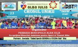 Sâmbătă: Crosul Unirii, în Șanțurile Cetății din Alba Iulia