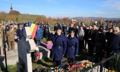 FOTO: Sublocotenent (p.m.) Claudiu Vasile Popa, căzut în luptă în Afganistan, a fost comemorat de Ziua Veteranilor din teatrele de operații