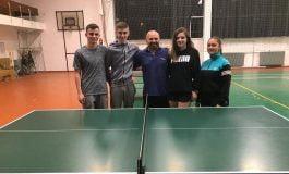 Elevi militari calificaţi la etapa judeţeană tenis de masă din cadrul Olimpiadei Naţionale a Sportului Şcolar