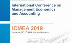 JOI: A XI-a ediţie a manifestării științifice internaționale International Conference on Management, Economics and Accounting – ICMEA 2019 la UAB