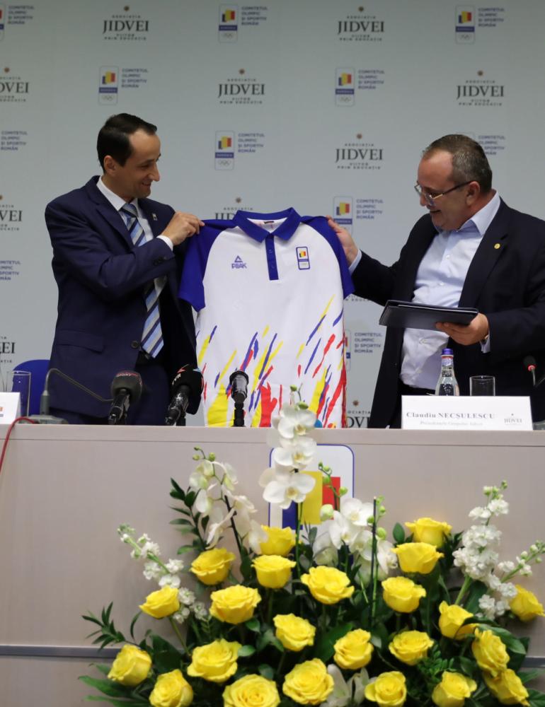Asociația Jidvei – Viitor prin Educație  a devenit partener al Comitetului Olimpic și Sportiv Român
