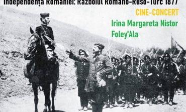 Independența României – cine-concert cu Irina Margareta Nistor & Foley'Ala. Proiecţie de film mut cu sound-design live și inserturi din memoriile Regelui Carol I