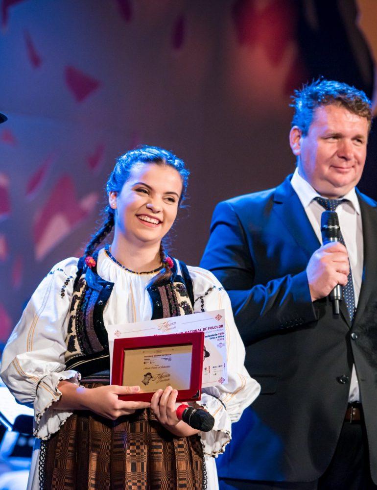 """FOTO: Câștigătorii Festivalului-Concurs Național de Interpretare a Cântecului Popular Românesc """"Felician Fărcașiu"""", ediția 2019"""