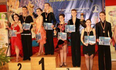 Câștigătorii celei de-a VI-a a Cupei Sebeșului la Dans Sportiv