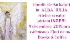 ASTĂZI: Atelier creativ de pictură la Flori de mac Books & Coffee