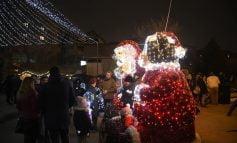 Atmosferă de sărbătoare la Târgul de Crăciun de la Aiud