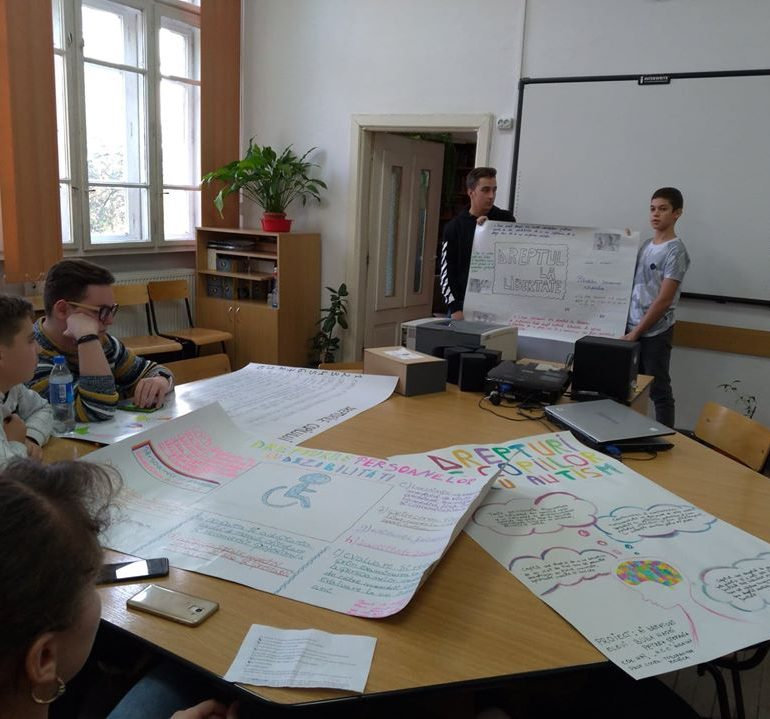 Proiect educativ local AI DREPTURI! – Ediția a V-a