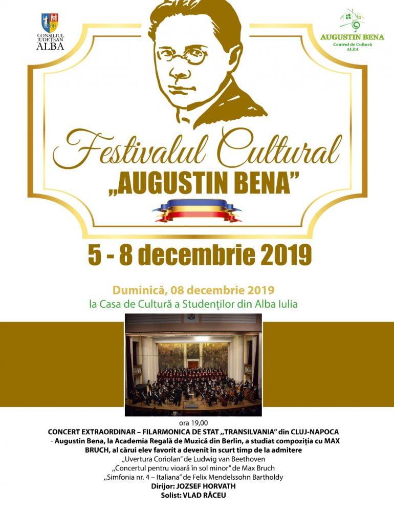 """Duminică: Concert extraordinar al Filarmonicii de Stat """"Transilvania"""" la Alba Iulia"""