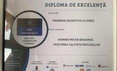 Premiu de excelență pentru Municipiul Sebeș, la GALA ADMINISTRAȚIEI 2019 de la Cluj Napoca