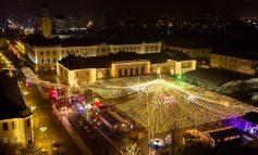 ASTĂZI: Moment inedit în Parcul Sărbătorilor de Iarnă din Alba Iulia