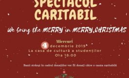 """Miercuri: """"We bring the MERRY in MERRY Christmas"""", la Casa de Cultură a Studenților din Alba Iulia"""