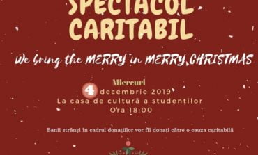 "Miercuri: ""We bring the MERRY in MERRY Christmas"", la Casa de Cultură a Studenților din Alba Iulia"