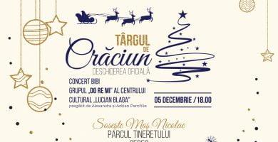 Joi: Deschiderea Târgului de Crăciun, la Sebeș