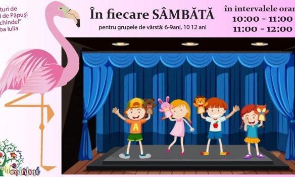 Din 18 ianuarie: Flamingo Drama Club & Teatrul Prichindel Alba Iulia pregătesc un atelier