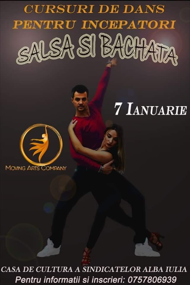 7 ianuarie: Curs de SALSA și BACHATA pentru începători la Casa de Cultură a Sindicatelor