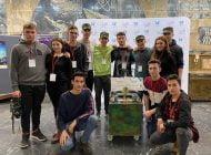 """Locul II pentru echipa de robotică la """"Winter Robotics Games"""" de la Timișoara"""