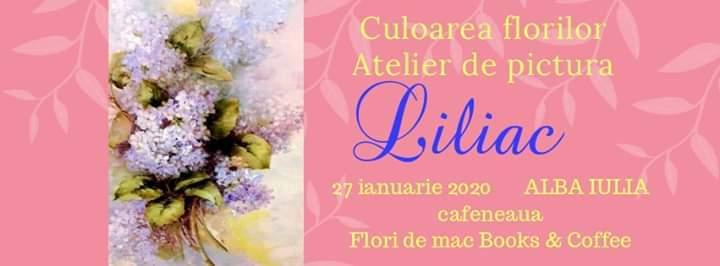 27 ianuarie: Un nou atelier de pictură la Flori de mac Books & Coffee