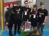 """Elevii militari pasionați de robotică, premiați la """"Rubix Demo"""" de la Blaj"""