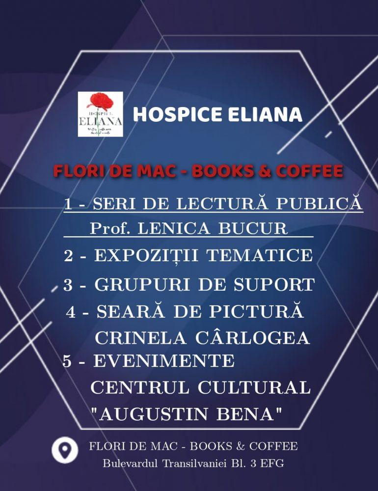 Hospice Eliana deschide o serie de evenimente culturale organizate lunar