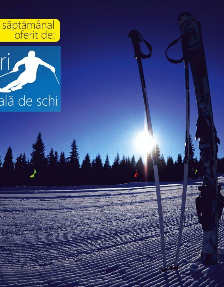 Vești bune pentru iubitorii sporturilor de iarnă cu privire la starea pârtiilor de la Domeniul Schiabil Șureanu
