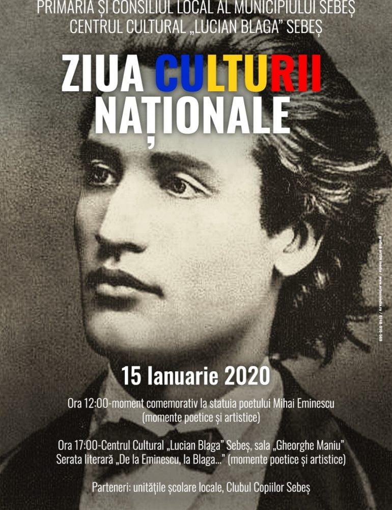 Miercuri: Ziua Culturii Naționale, la Sebeș