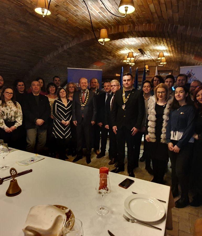 """""""Ora Guvernatorului"""", la Rotary Alba Iulia Civitas Solis"""