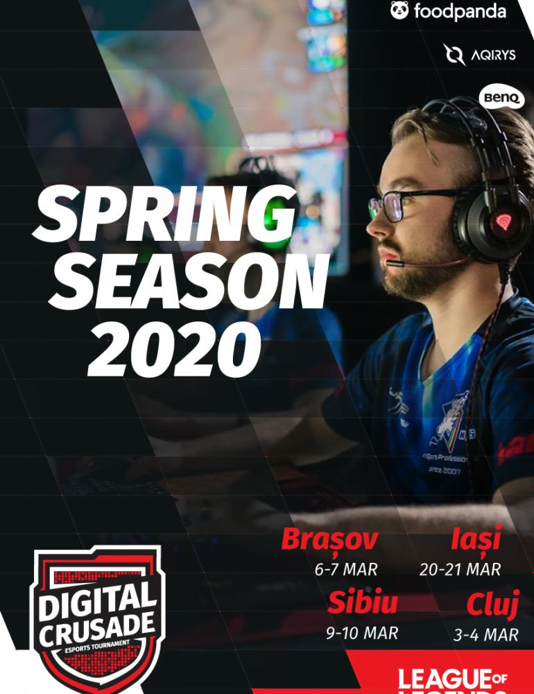 Finala gamerilor profesioniști Digital Crusade se organizează la Cluj Napoca