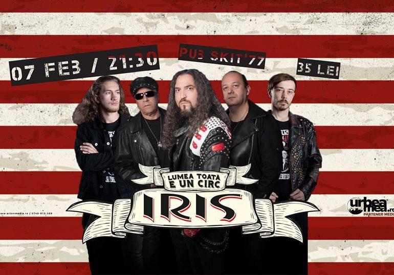 Vineri: Super concert IRIS, la Pub Skit' 77