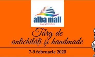 7 - 9 februarie: Târgul de antichități și handmade, la Alba Mall