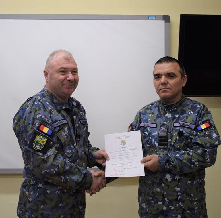 Profesionalismul și rezultatele deosebite în serviciul militar, răsplătite de Forțele Aeriene cu distincții militare