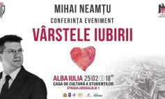"""Marți: Conferința eveniment """"Vârstele iubirii"""", la Casa de Cultură a Studenților din Alba Iulia"""