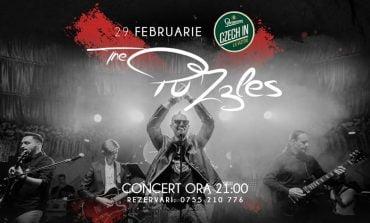 ASTĂZI: The Puzzles vă așteaptă la Czech In La Vizitiu cu un concert live