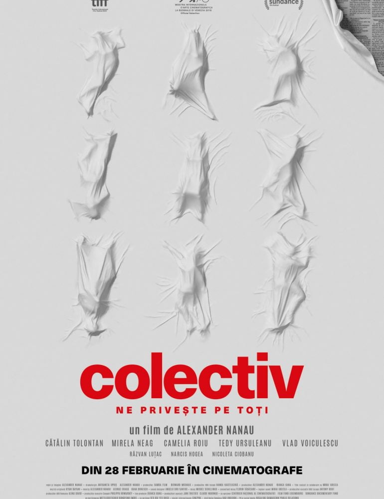 """Filmul """"colectiv"""" se vede în avanpremieră la Alba Iulia"""