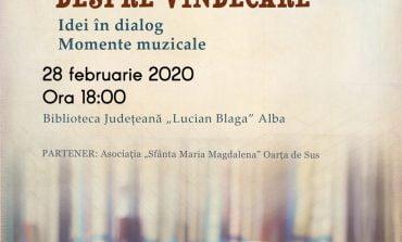 """Biblioteca Județeană ,,Lucian Blaga"""" Alba- spațiu al ideilor și dialogului pe temă dată"""