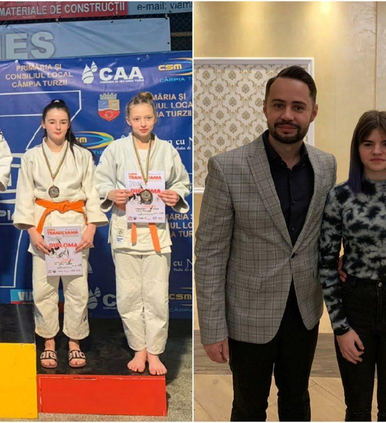 Prima medalie pentru CS Unirea Alba Iulia în 2020! Judoka Laura Bogdan a obținut aur la Cupa Transilvania